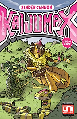 Kaijumax: Season Four #1