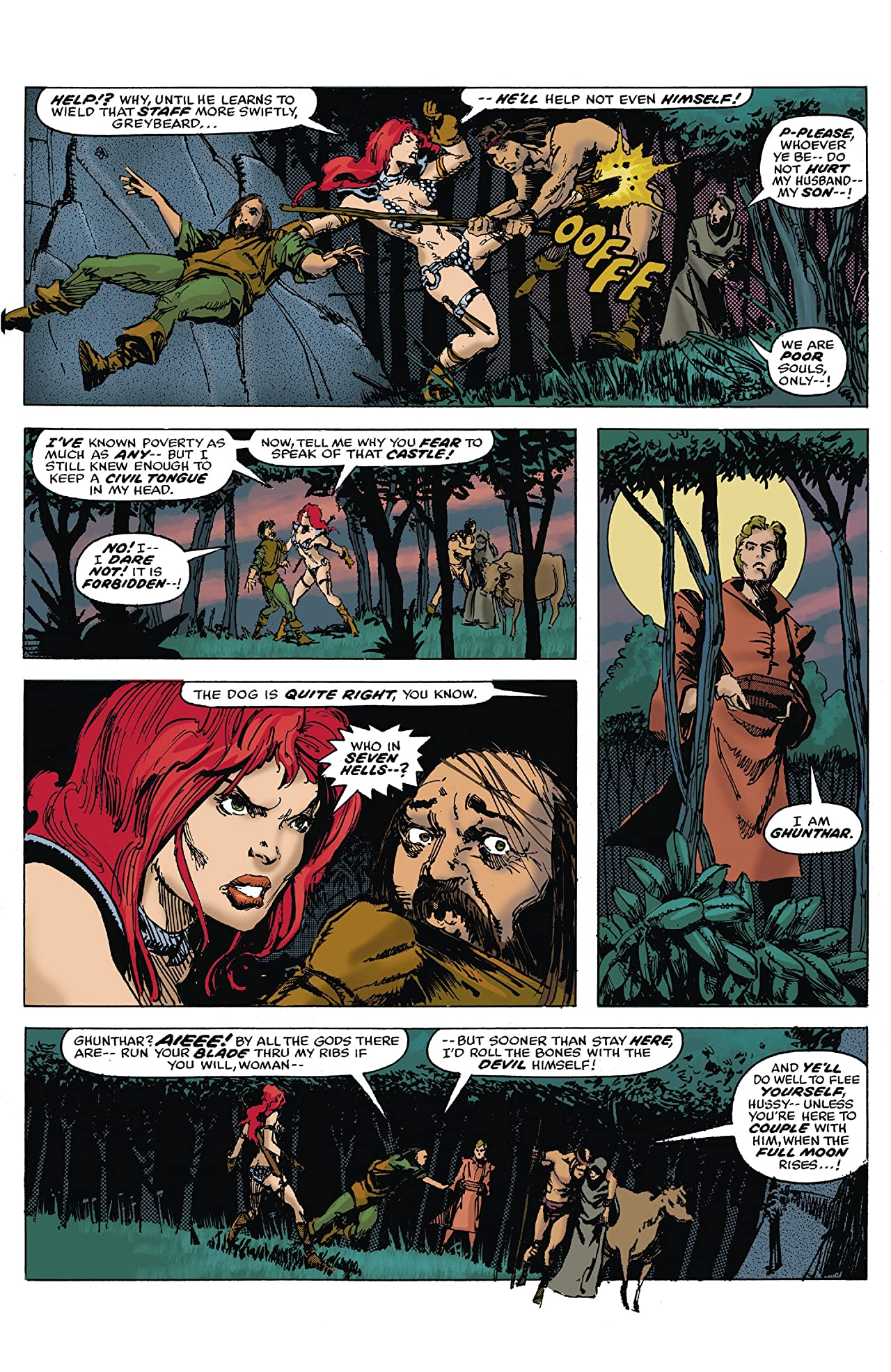 The Further Adventures Of Red Sonja Tome 1