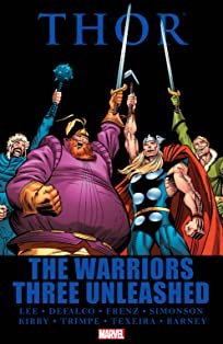 Thor: The Warriors Three Unleashed