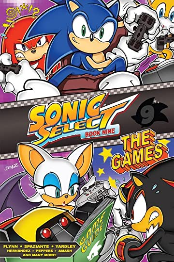 Sonic Select: Book Nine - The Games