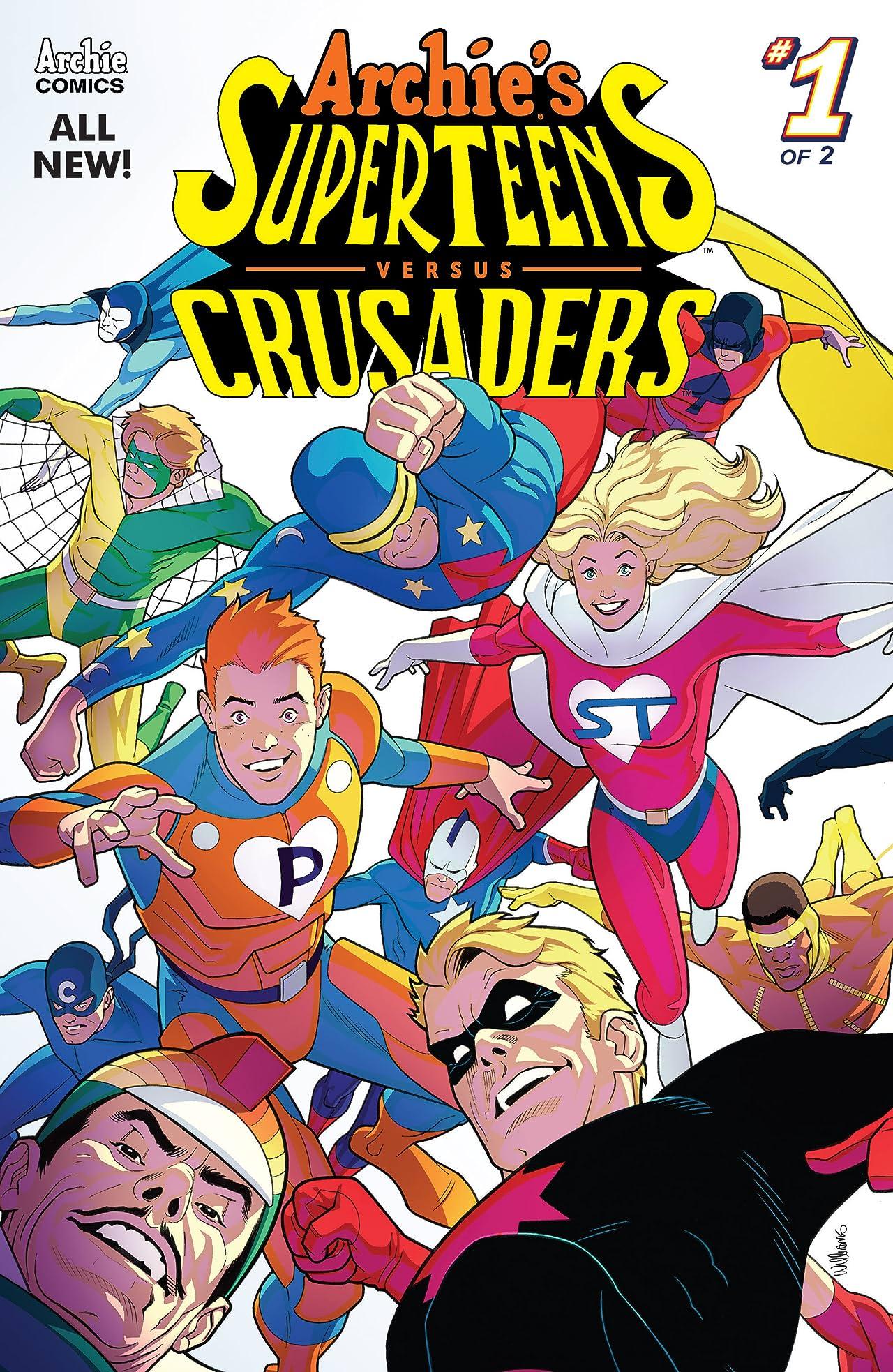 Archie's Superteens Versus Crusaders #1