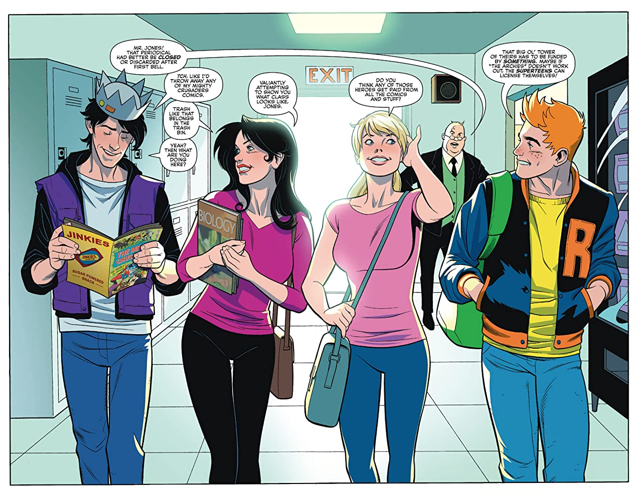 Archie's Superteens Versus Crusaders #1