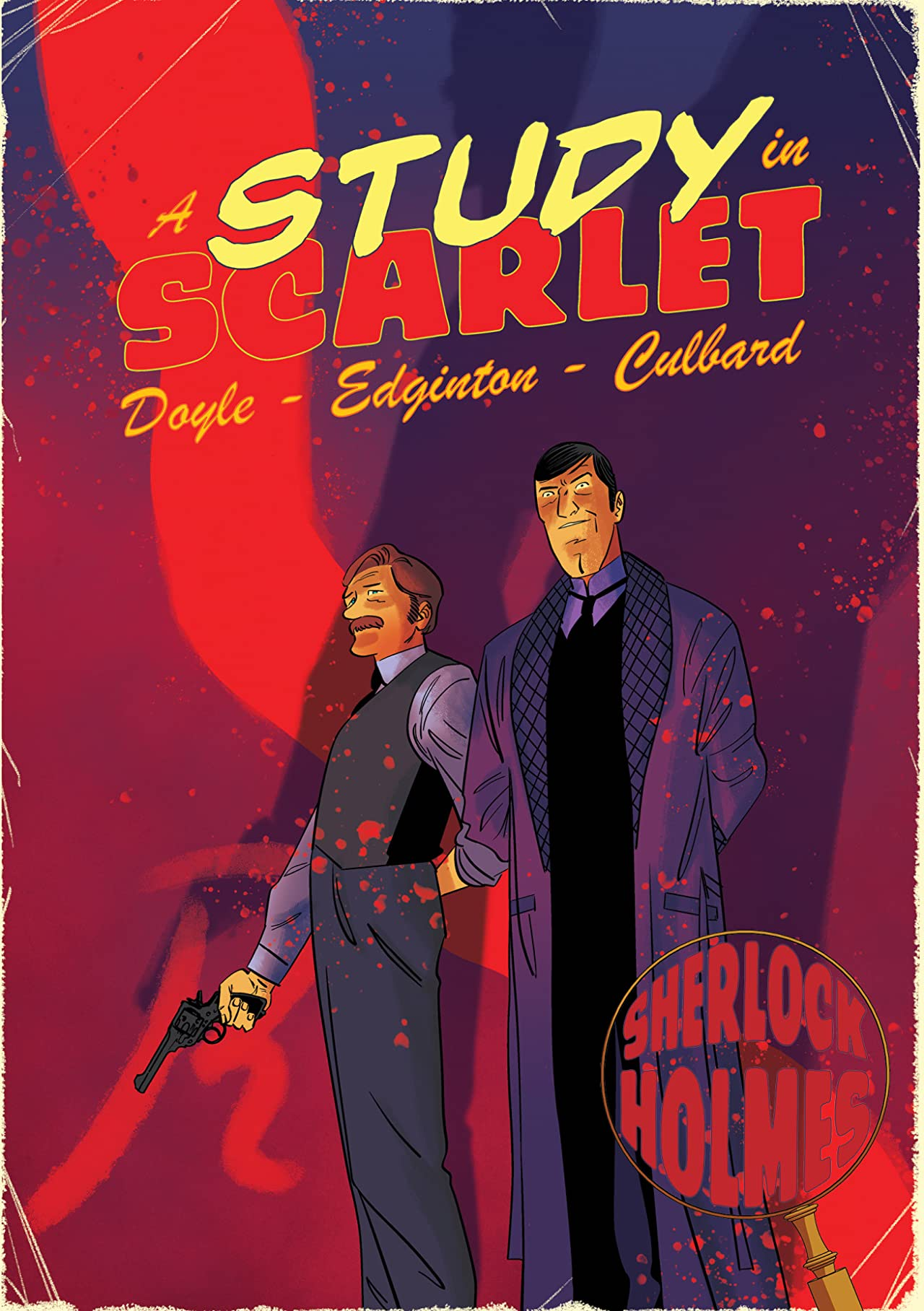 A Sherlock Holmes Graphic Novel Vol. 1: A Study in Scarlet
