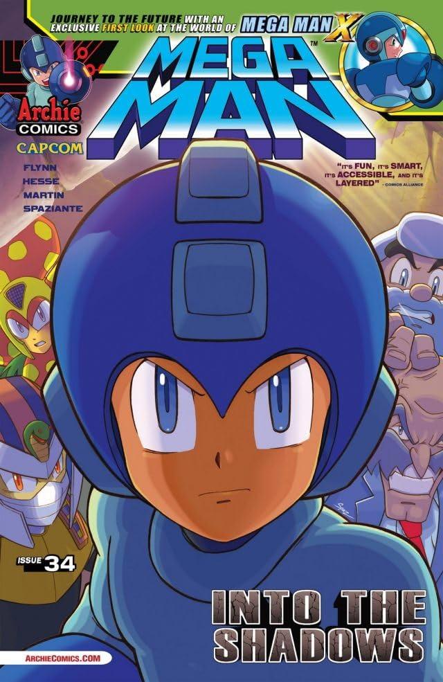Mega Man #34