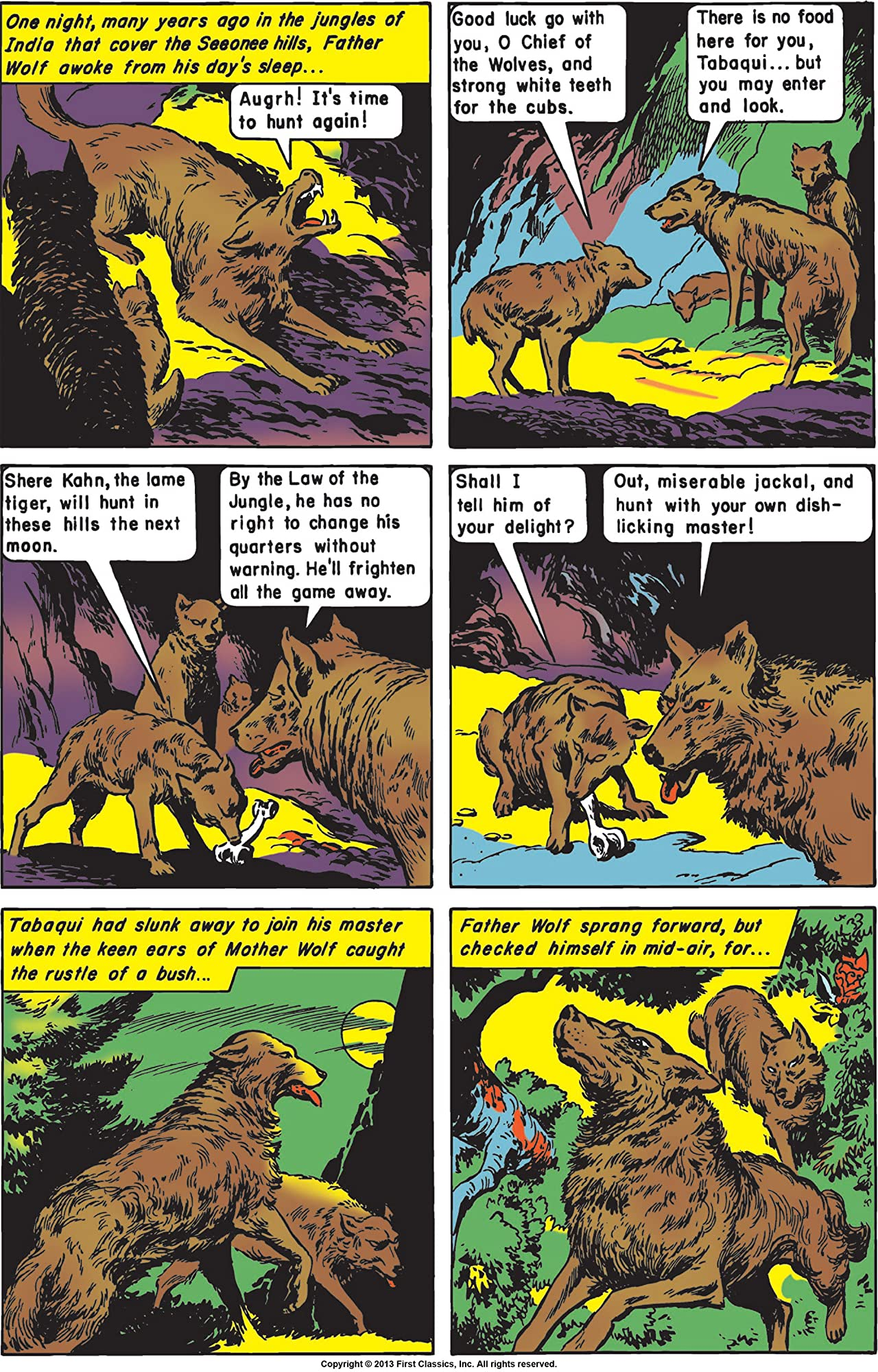 Classics Illustrated #83: The Jungle Book