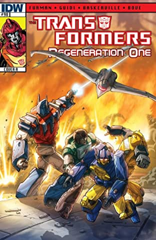 Transformers: Regeneration One #98