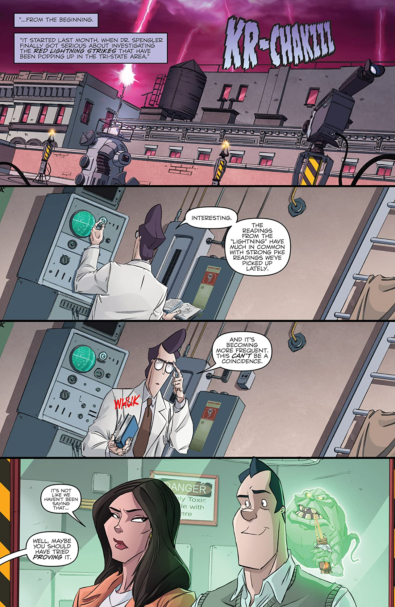 Ghostbusters (2013-2014) #12