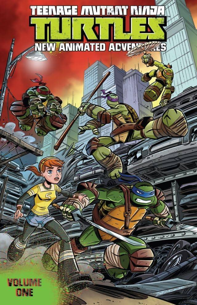 Teenage Mutant Ninja Turtles: New Animated Adventures Vol  1 - Comics by  comiXology