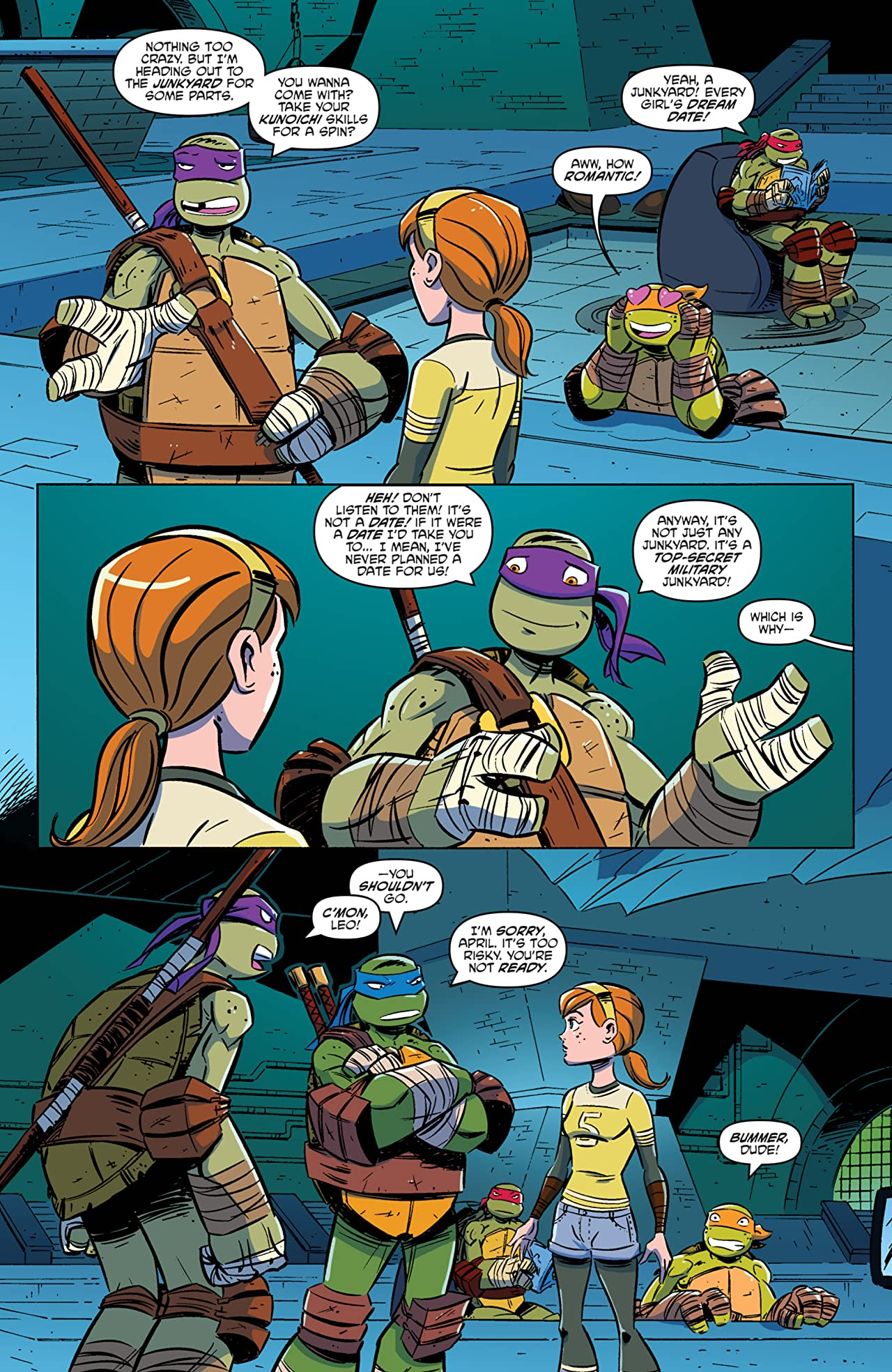 Teenage Mutant Ninja Turtles: New Animated Adventures Vol. 1