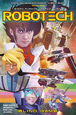 Robotech Vol. 3: Blind Game