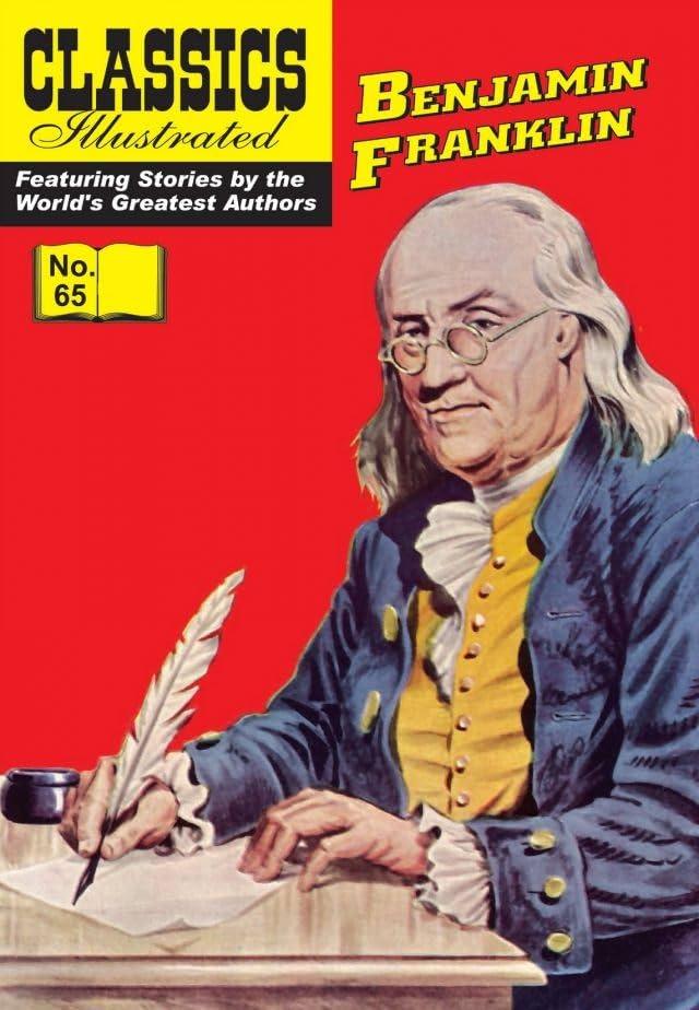 Classics Illustrated #65: Benjamin Franklin