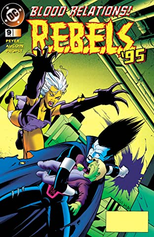 REBELS (1994-1996) #9