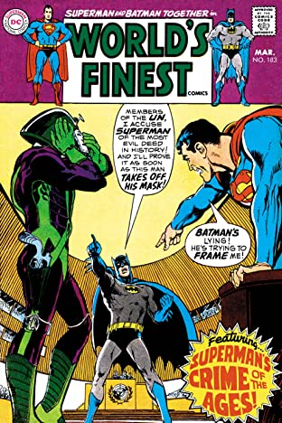 World's Finest Comics (1941-1986) #183