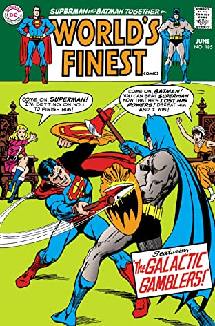 World's Finest Comics (1941-1986) #185
