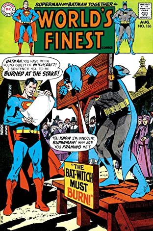 World's Finest Comics (1941-1986) #186