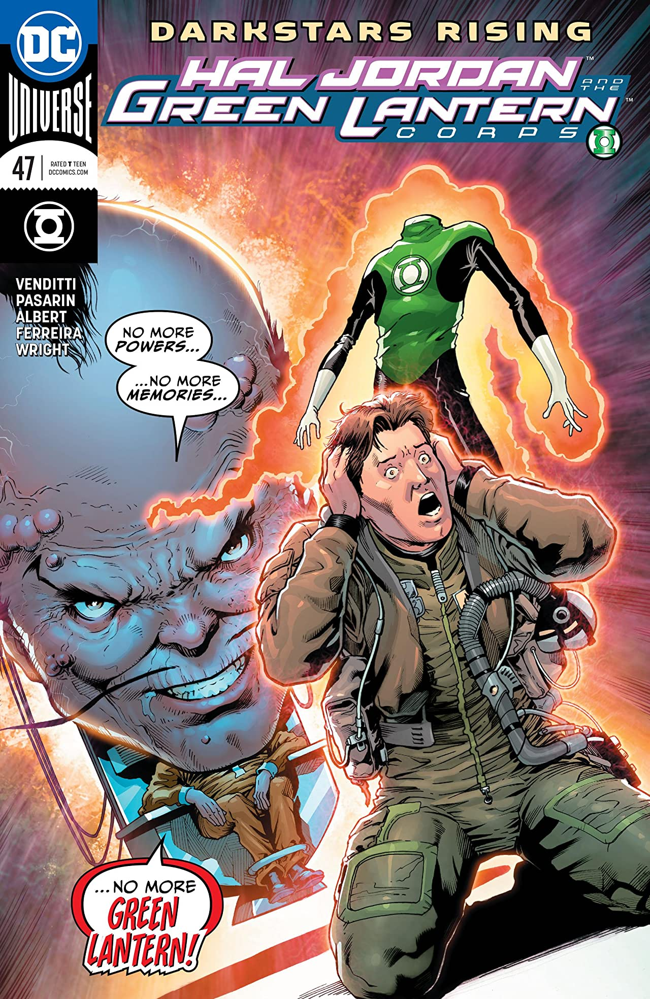 Hal Jordan and The Green Lantern Corps (2016-) No.47