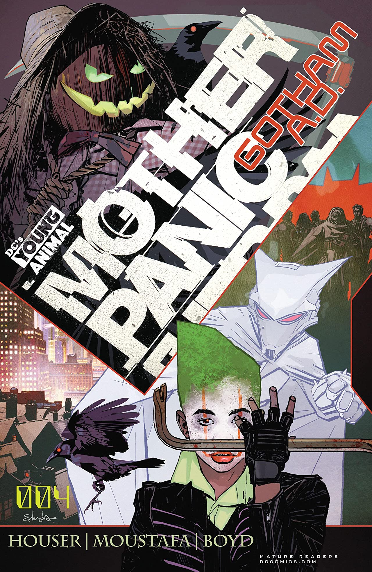 Mother Panic: Gotham A.D. (2018-) No.4