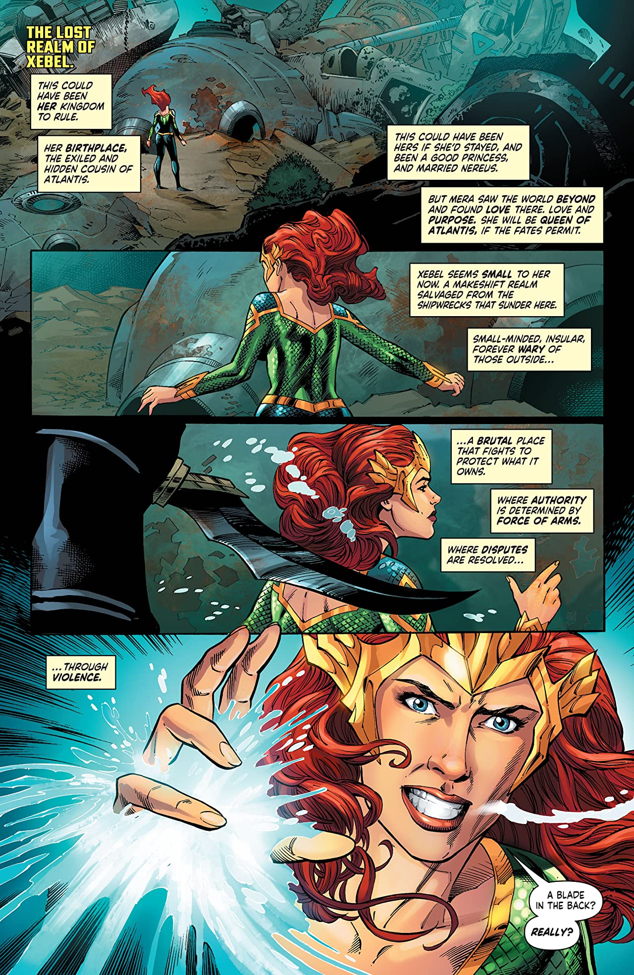 Mera: Queen of Atlantis (2018) #5