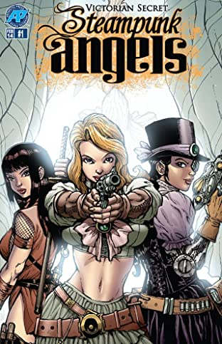 Victorian Secret: Steampunk Angels 2014 #1