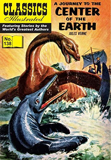 Classics Illustrated #138: Journey to the Center of the Earth