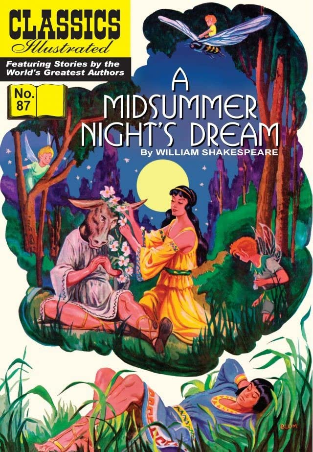 Classics Illustrated #87: A Midsummer Night's Dream