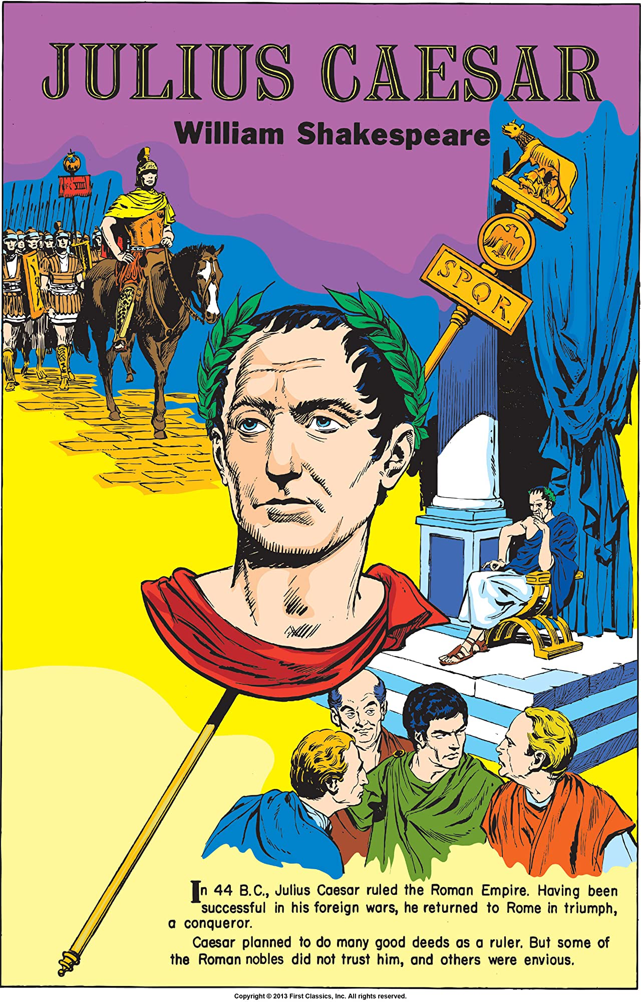 Classics Illustrated #68: Julius Caesar