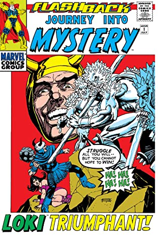 Journey Into Mystery (1952-1966) #-1