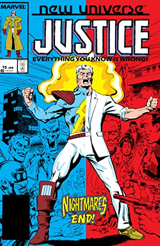 Justice (1986-1989) #15