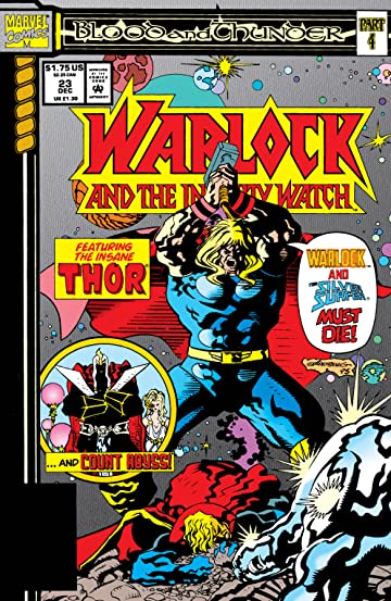 Warlock and the Infinity Watch (1992-1995) #23