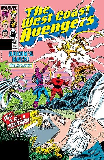 Avengers West Coast (1985-1994) #31