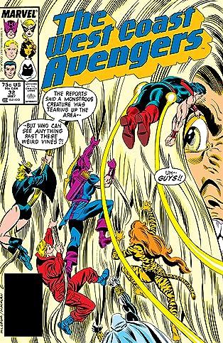Avengers West Coast (1985-1994) #32