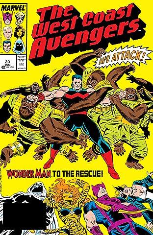Avengers West Coast (1985-1994) #33