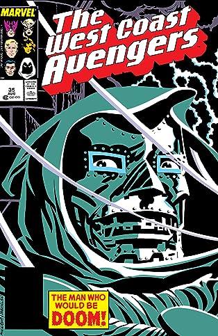 Avengers West Coast (1985-1994) #35