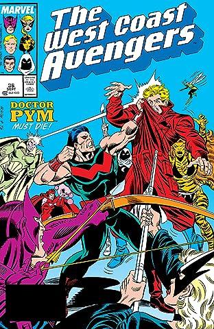 Avengers West Coast (1985-1994) #36