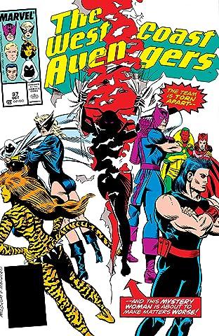 Avengers West Coast (1985-1994) #37