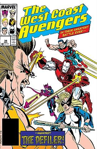 Avengers West Coast (1985-1994) #38