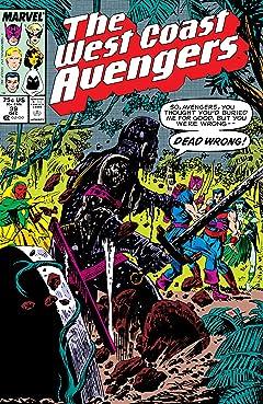 Avengers West Coast (1985-1994) #39