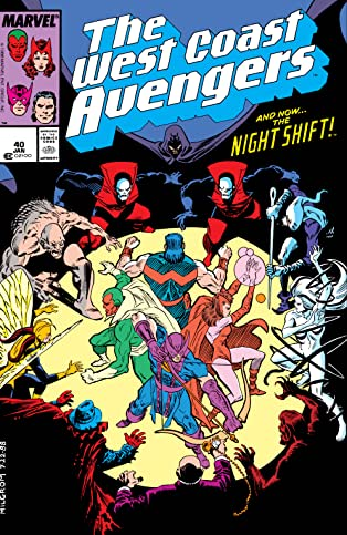 Avengers West Coast (1985-1994) #40