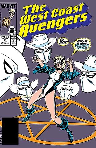 Avengers West Coast (1985-1994) #41