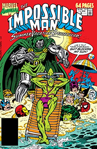 The Impossible Man Summer Vacation Spectacular (1990-1991) #1