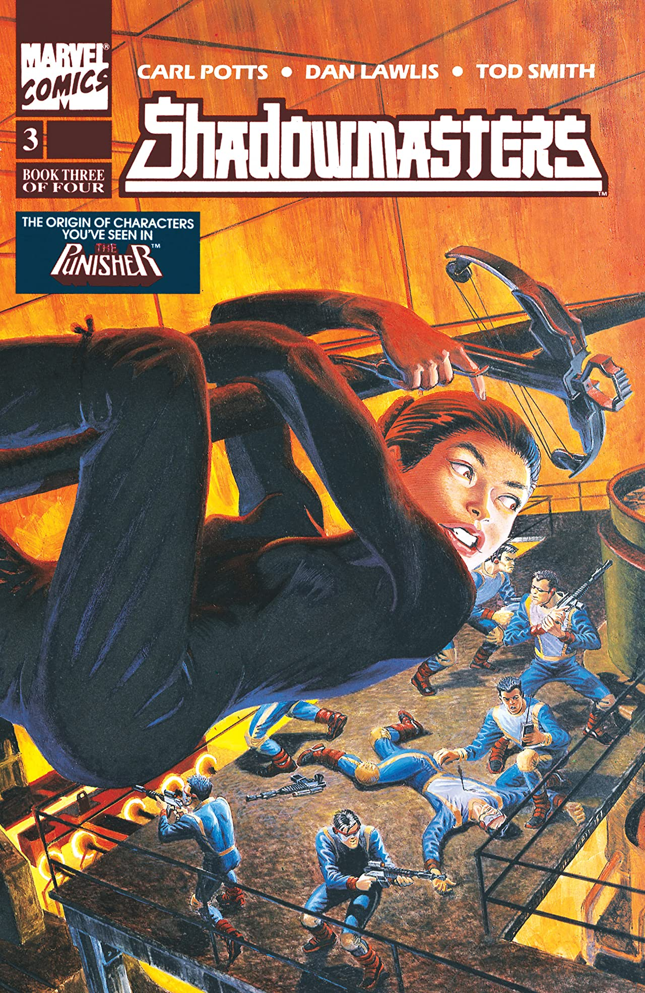 Shadowmasters (1989-1990) #3 (of 4)