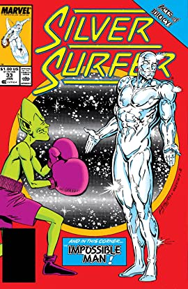 Silver Surfer (1987-1998) #33