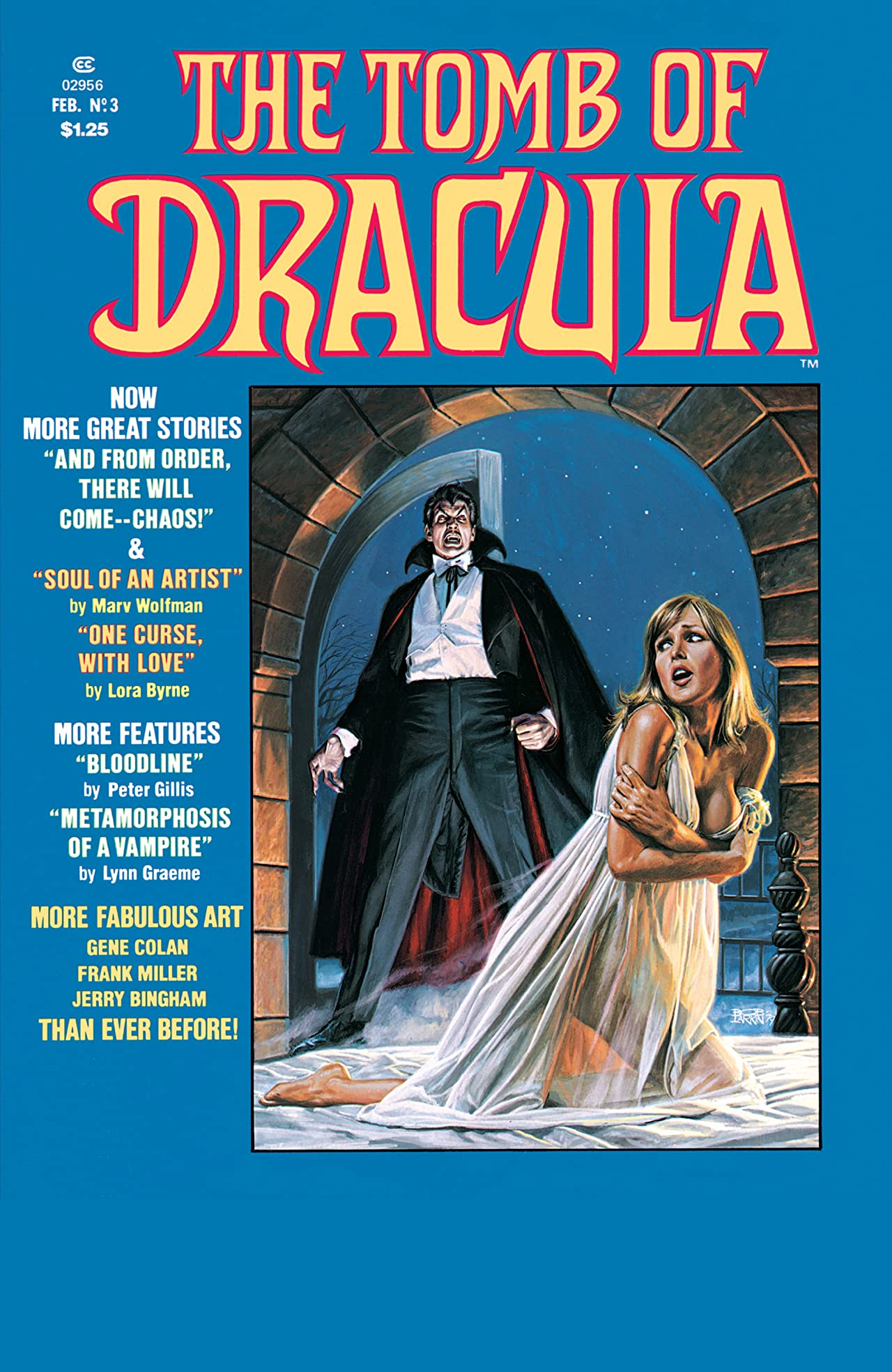 The Tomb of Dracula (1979-1980) #3
