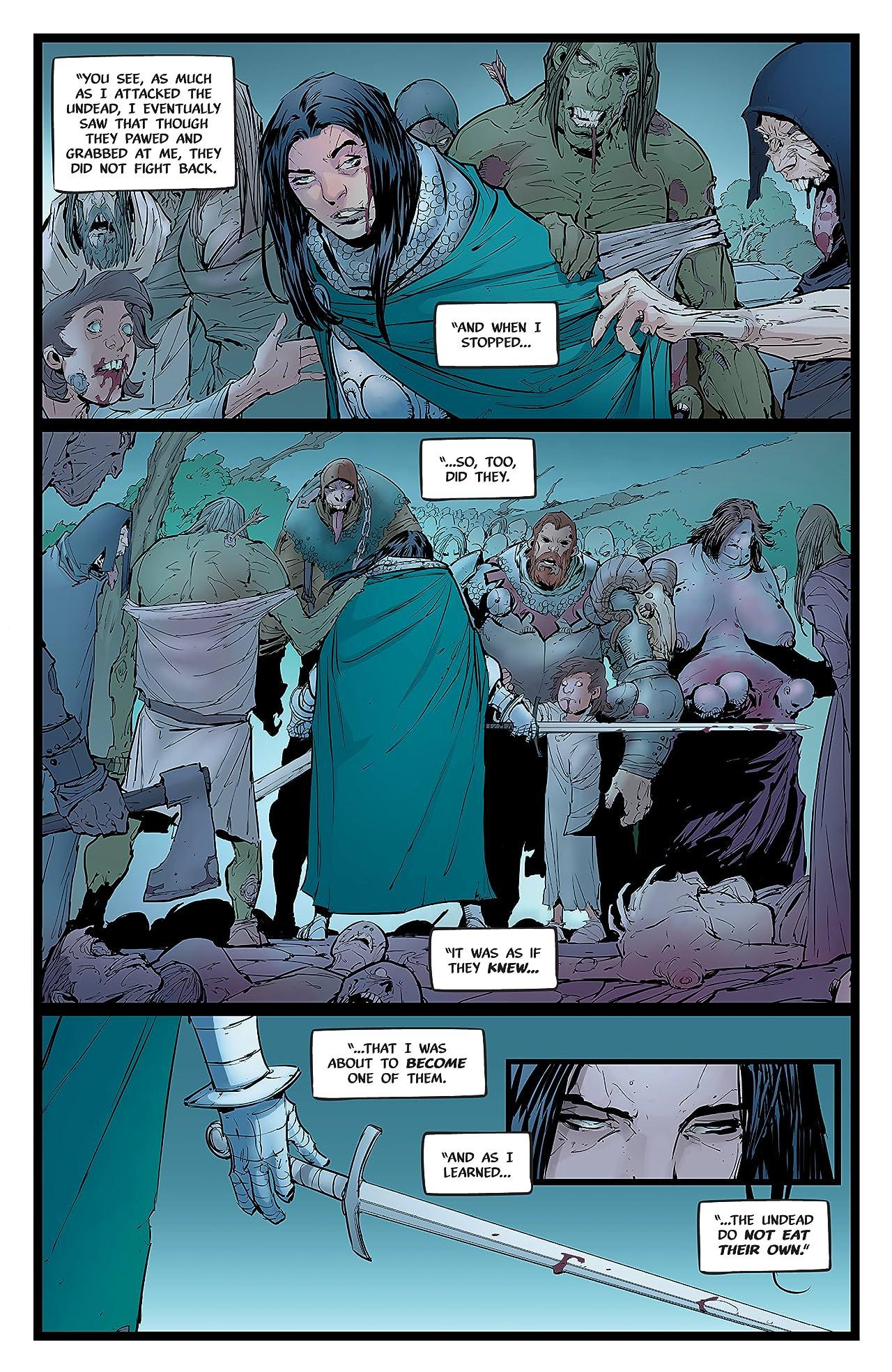 Pestilence: A Story of Satan #4