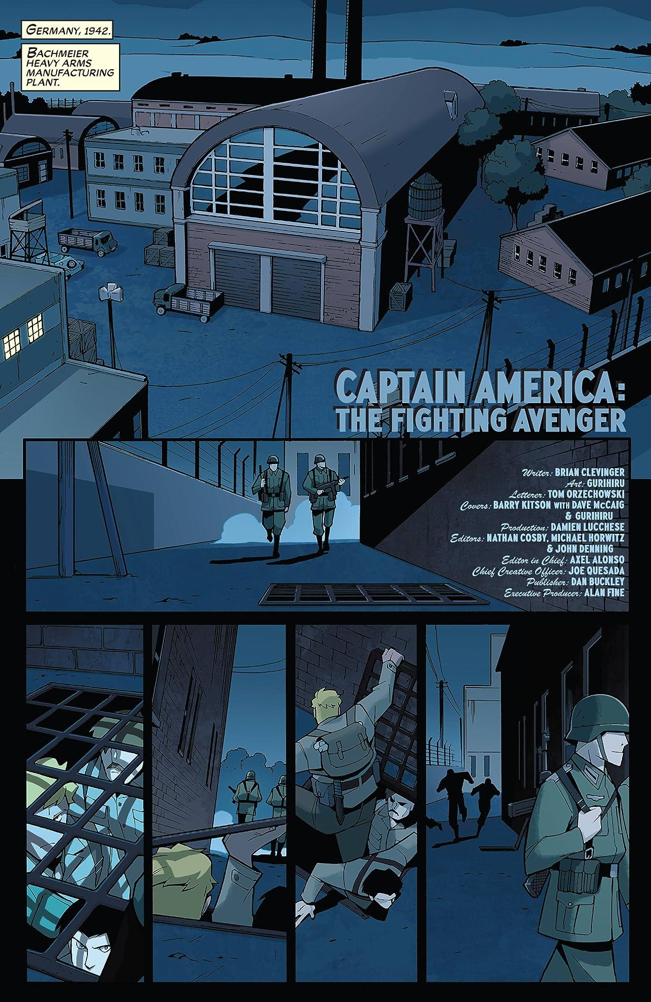 Captain America: Fighting Avenger