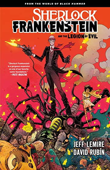 Sherlock Frankenstein: From the World of Black Hammer Tome 1