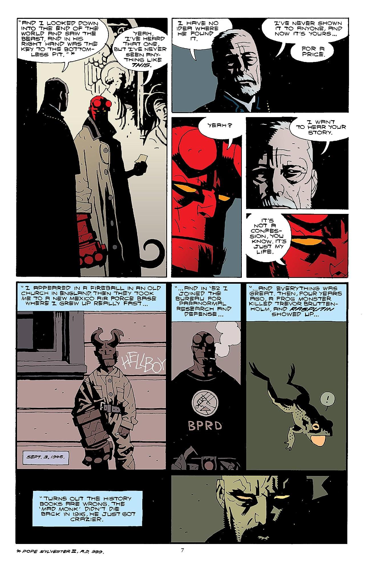 Hellboy Omnibus Vol. 2: Strange Places