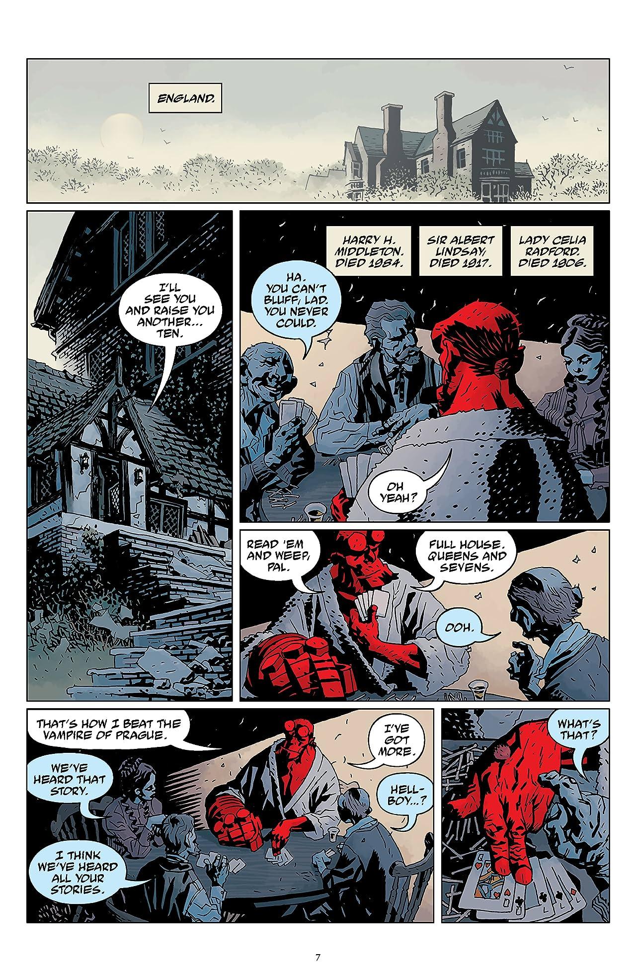 Hellboy Omnibus Vol. 3: The Wild Hunt