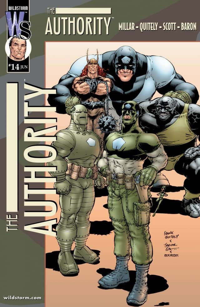 The Authority (1999-2002) #14