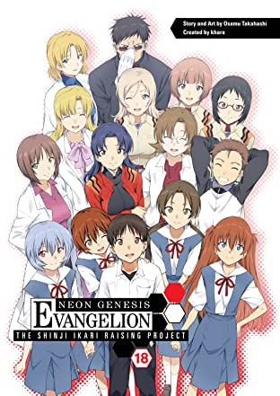 Neon Genesis Evangelion: The Shinji Ikari Raising Project Vol. 18